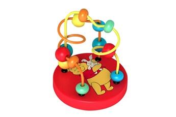 Peluches Be Imex Disney winnie l'ourson circuit avec billes en bois multicolore - 9x12 cm