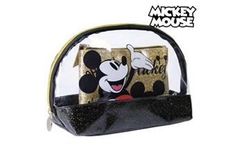 Trousse de toilette bébé Mickey Mouse Trousse de toilette mickey mouse doré noir (2 pcs)