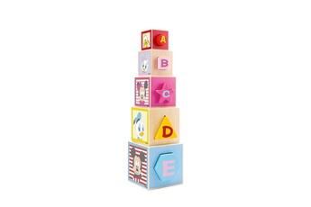 Peluches Be Imex Disney mickey mouse boites ? empiler en bois multicolore - 12x12x45 cm
