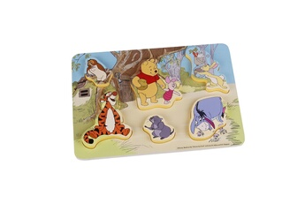 Peluches Be Imex Disney winnie l'ourson puzzle en bois multicolore - 29.5x21x1.75 cm