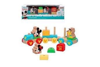 Jouet de bain Bigbuy Fun Train mickey & minnie 14 pcs 34 cm (18+ mois)