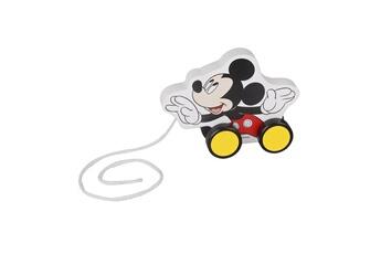 Peluches Be Imex Disney mickey mouse jouet à tirer en bois multicolore - 17.5x6x13.7 cm