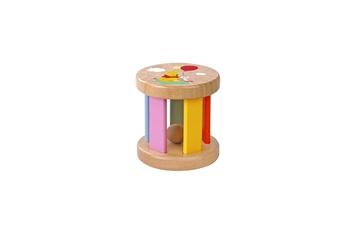 Peluches Be Imex Disney winnie l'ourson jouet ? faire rouler en bois multicolore - 7x7 cm