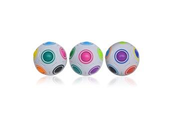 Jouets éducatifs Generic Xmas stress reliever magic rainbow ball fun plastic puzzle education toys gift multicolore_ci2531