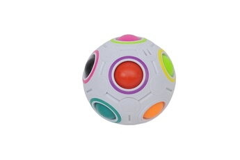 Jouets premier âge AUCUNE Xmas stress reliever magic rainbow ball fun plastic puzzle education toys gift_w898