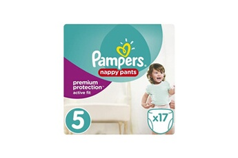 Couches Pampers Premium active fit pants taille 5 11-18 kg - 17 couches-culottes
