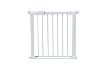 Barrière de sécurité bébé SAFETY 1ST Barriere de s?curit? enfant flat step barriere m?tal - blanc