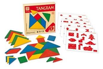 Puzzles Goula Tangram multicolore goula