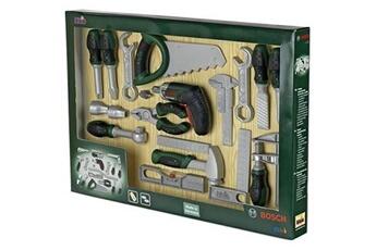 Jeux d'imitation KLEIN Klein - 8551 - jeu d'imitation - mega set outils bosch profiline avec visseuse ixolino