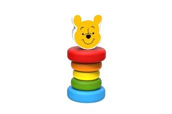 Peluches Be Imex Disney winnie l'ourson hochet en bois multicolore - 5.5 x 5.5 x 15 cm
