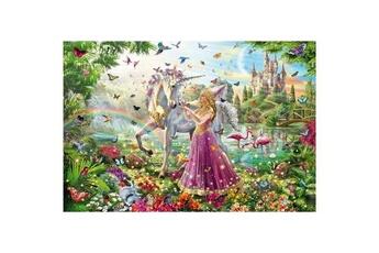 Puzzles Schmidt Spiele Puzzle 200 pièces : la belle fée dans la forêt enchantée, schmidt spiele