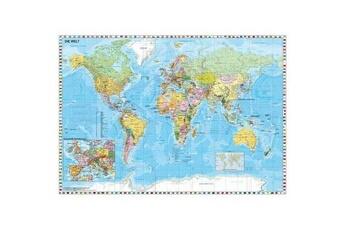 Puzzles Schmidt Spiele Puzzle 1500 pièces : carte du monde en allemand, schmidt spiele
