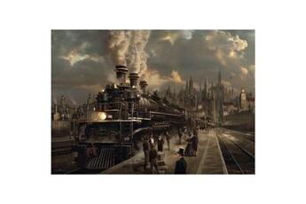 Puzzles Schmidt Spiele Puzzle 1000 pièces : locomotive, schmidt spiele