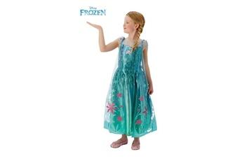 Déguisements filles Disney La reine des neiges d?guisement elsa 5-6 ans. Robe + cape