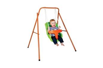 Bascule Paradiso Paradiso toys balançoire avec siège bébé orange/vert