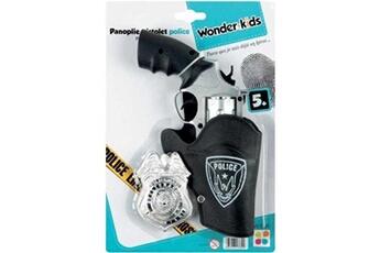 Jeux d'imitation Wonder Kids Panoplie pistolet et accessoires police wdk