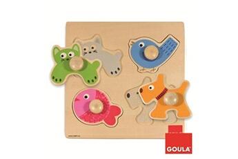 Puzzles Goula Goula puzzle animaux domestiques 4 pièces