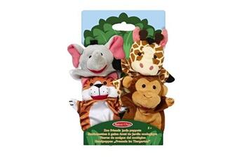 Jeux d'imitation MELISSA & DOUG Marionnettes à gaine melissa & doug amis du jardin zoologique