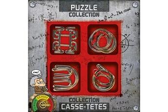 Puzzles Gigamic Coffret de 4 casse-têtes en métal gigamic extrême