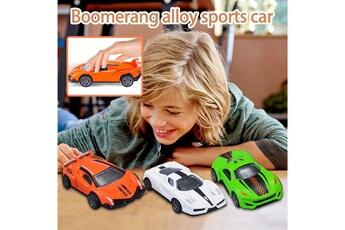Accessoires pour maquette AUCUNE Accessoires pour maquette voiture de sport en alliage miniature racing premium car set 3 - piece model toy -multicolore