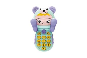 Jouets éducatifs GENERIQUE Bébé gutta-percha jouet changement de visage musique téléphone mobile ft2411