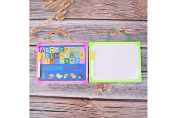 Jeux et accessoires pour tablette enfant Electrotechprivé Tableau blanc tableau d'essuyage sec mini tableau blanc de dessin petit tableau suspendu avec stylo marqueur, livraison de couleur aléatoire