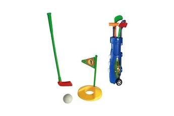 Jouets éducatifs Euroweb Coffret d'accessoires de golf (9 pièces) - set jeu pour enfant golf couleur - rouge