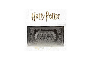 Figurine Fanattik Harry potter - réplique hogwarts train ticket limited edition (plaqué argent)