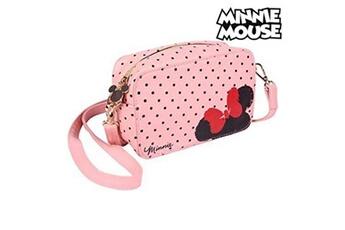 Poussette multiple Minnie Mouse Sac à bandoulière minnie mouse (19 x 12,1 x 6,5 cm) rose