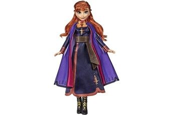 Poupées Disney Frozen Disney la reine des neiges 2 - poupée anna chantante (français) - 26 cm