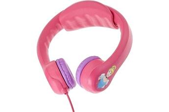 Jeux et accessoires pour tablette enfant Lexibook Lexibook - disney princesses - casque audio enfant - flexible et incassable