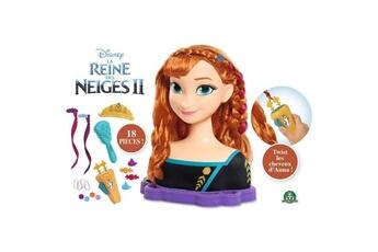 Poupées AUCUNE La reine des neiges 2 - tete a coiffer deluxe - anna