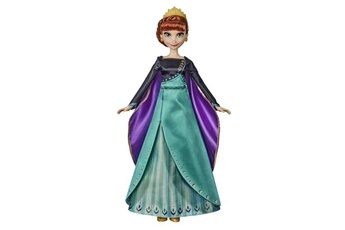 Poupées Hasbro Disney la reine des neiges 2 - poupee princesse disney elsa chantante (fran?ais) en tenue de reine - 27 cm