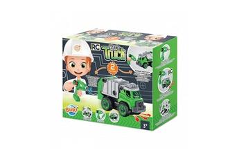 Véhicules miniatures BUKI Ingenieur junior - le camion de poubelle