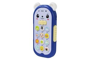 Jouets éducatifs GENERIQUE Bébé gutta-percha jouet changement de visage musique téléphone mobile ft1408