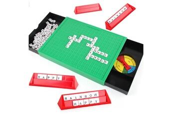 Jouet de bain GENERIQUE Puzzle apprentissage anglais jouet alphabet anglais scrabble jeu spell words game