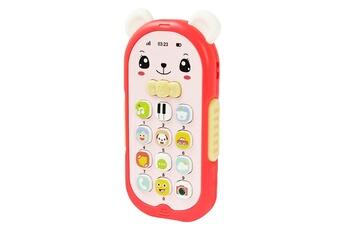 Jouets éducatifs GENERIQUE Bébé gutta-percha jouet changement de visage musique téléphone mobile ft1411