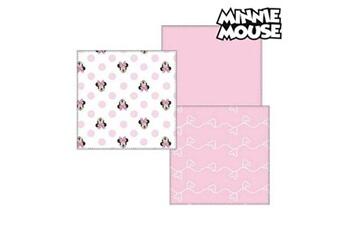 Trousse de toilette bébé Minnie Mouse Serviette de bain en mousseline minnie mouse 75402 rose (pack de 3)