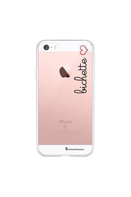 Coque iphone 5/5s/se souple transparente bichette motif ecriture tendance la coque francaise