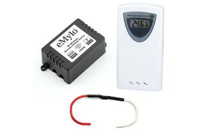 Accessoires chauffage central Planète Domotique Kit de gestion de chauffage fil pilote 433 mhz compatible rfxcom avec sonde de température