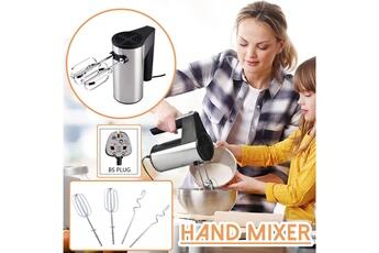 Mixeur cuiseur GENERIQUE Mélangeur à main de fouet électrique et fouet à nouilles pour fouetter la crème comme montré