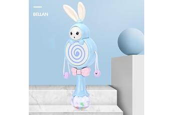 Nacelle bébé GENERIQUE Bébé lapin handbell instrument de musique jingle rattle toy cadeau d'anniversaire