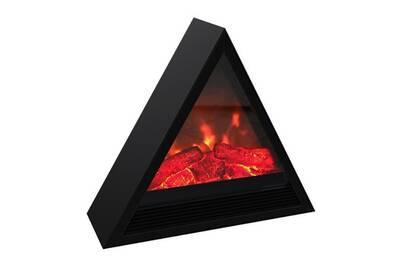 Carrera Carrera khéops 1800 watts cheminée électrique pyramidale décorative et chauffage d'appoint