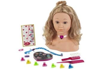 Poupées KLEIN Princess coralie tete a coiffer et a maquiller avec accessoires - 33cm