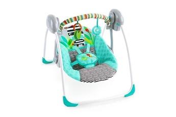 Balancelle bébé BRIGHT STARTS Bright starts balancelle compacte bebe zig zag zebra