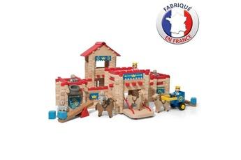 Autres jeux de construction Shot Case Jeujura - le chateau fort en bois - jeu de construction - 300 pieces