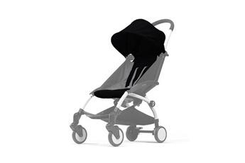 Accessoire poussette Babyzen Babyzen pack couleur 6m+ pour yoyo+ sans châssis - noir