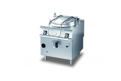 Appareil de cuisson pro Olis Marmite gaz chauffage indirect diamante 90 - 50 à 135 l - olis - 100 litres 5000 cl