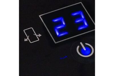 Chauffage soufflant GENERIQUE Icaverne - appareils de chauffage distingué chauffage céramique numérique ka-5014 2000w