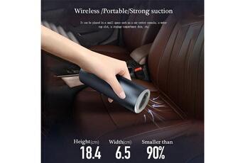 Accessoires pour la voiture AUCUNE Mini aspirateur sans fil chargeant un mini aspirateur portatif